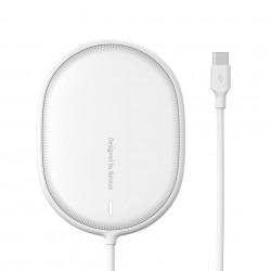 Incarcator wireless,Baseus Light pentru iPhone 12, 15W (white)