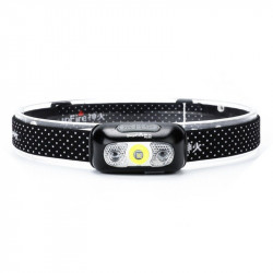 Lanterna cap, Supfire HL05 cu comutator fara contact, USB, 219lm , 74m