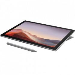 "Laptop 2 in 1 Microsoft Surface Pro 7 cu procesor Intel Core i3-1005G1 pana la 3.40 GHz, 12.3"", Pixel Sense, Touch, 4GB, 128GB SSD, Intel UHD Graphics, Windows 10 Home, Platinum + tastatura cadou"