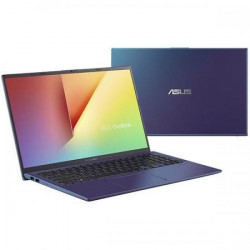 Laptop ASUS 15.6'' VivoBook 15 X512DA, FHD, Procesor AMD Ryzen™ 5 3500U (4M Cache, up to 3.70 GHz), 8GB DDR4, 512GB SSD, Radeon Vega 8, No OS, Peacock Blue