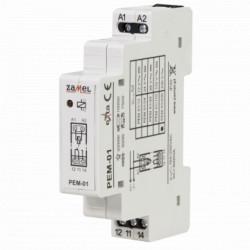 Releu electromagnetic 230 V, AC/16A, Zamel PEM-01
