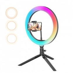 Ring light birou pentru telefon, Blitzwolf BW-SL5 RGB