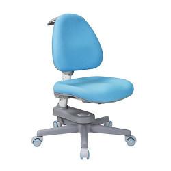 Scaun de studiu ergonomic reglabil pentru copii Ergok Rona, Albastru