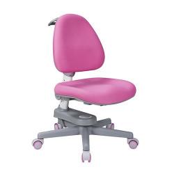 Scaun de studiu ergonomic reglabil pentru copii Ergok Rona, Roz