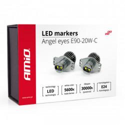 Set 2 x LED marker E90-20W-C