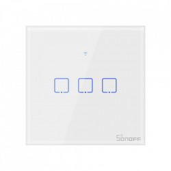 Smart Switch WiFi Sonoff T0 EU TX (3 canale)
