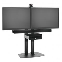 Stand TV fix Vogel's pentru podea SidebySide (Negru sau Gri)