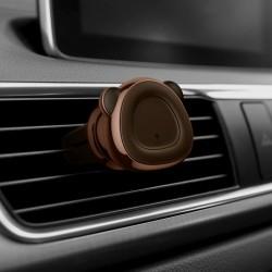 Suport auto , Baseus Bear magnetic cu prindere la sistemul de ventilatie , maro