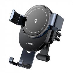 Suport auto cu incarcare wireless Joyroom Qi 15 W gray (JR-ZS212)