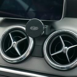 Suport auto magnetic CLEC exclusiv pentru Mercedes Benz GLA class, negru