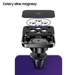 Suport auto magnetic USAMS pentru parbriz US-ZJ055 negru