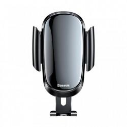 Suport auto pentru gurile de ventilatie rotunde , Baseus Future Gravity , negru SUYL-BWL01