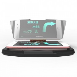 Suport auto telefon tip Head Up Display pentru aplicatii GPS sau multimedia