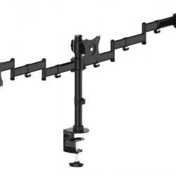 """Suport pentru 3 monitoare Multibrackets 3385, 15""""- 27"""", max. 8 kg / monitor, Negru"""