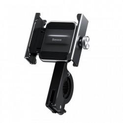 Suport telefon pentru bicicleta din metal , Baseus Knight , negru (CRJBZ-01)