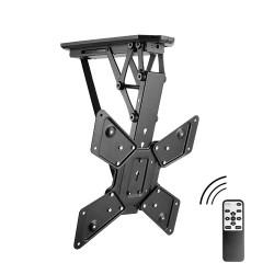 Suport TV de tavan motorizat Blackmount PLB-M0544, telecomanda inclusa