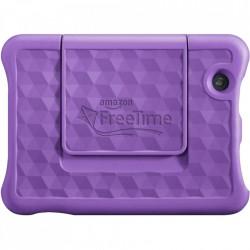 Tableta Amazon Fire 7, afisaj de 7 inch, 16 GB, mov, potrivita pentru copii