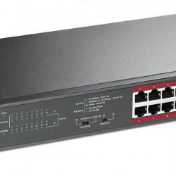 TPL SW 16P-POE ,2P-GB SFP UNMNGD RM