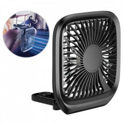 Ventilator auto pliabil cu prindere la tetiera, Baseus , negru (CXZD-01)