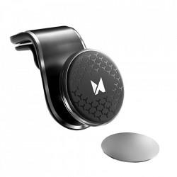 Wozinsky Suport magnetic 360 universal cu prindere in gura aerisire negru (WCH-03)