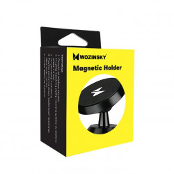 Wozinsky Suport magnetic universal cu prindere pe bordul masinii negru