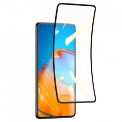 2 x Folie protectie 3D din plastic, Baseus 0,15 mm pentru Huawei P40 negru (SGHWP40-KR01)