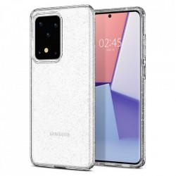 Husa Spigen Liquid Crystal Glitter Samsung Galaxy S20 Ultra - transparent