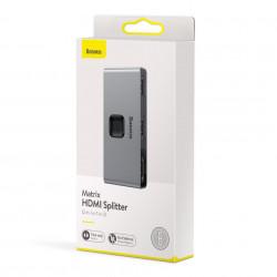 Adaptor 2 cai / splitter HDM, 2x1 / 1x2, 4K , Baseus Matrix CAHUB- BC0G