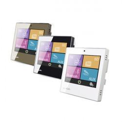 Amplificator stereo 2x10W de perete cu USB/SD/FM/Bluetooth/2xAUX cu ecran LED, DSPPA DM837