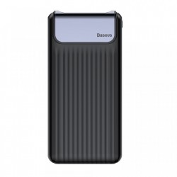 Baterie externa/Power bank Baseus 10000 mAh QC3.0 2x USB 1x USB Type C 2.1A Quick Charge 3.0 , neagra