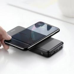 Baterie externa/Power bank Wireless , Baseus M36 QI , 10000 mAh , negru