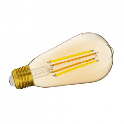 Bec inteligent LED Sonoff B02-F-ST64, vintage, Wi-Fi, 7W, 700 LM, Dimmer, Control aplicatie