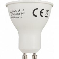 Bec Led GU10, model R50, 8W=60W, 6400K, lumina rece