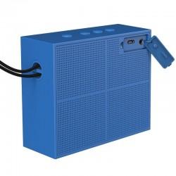 Boxa portabila , Baseus Encok E05 , wireless bluetooth , albastru-portocaliu