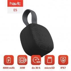 Boxe Bluetooth impermeabile E5 TWS cu IP7X, TWS, 4000mAh Power Bank , negru