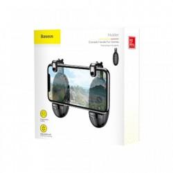 Butoane gaming, Baseus Grenade, pentru telefon mobil, set 2 bucati, negru