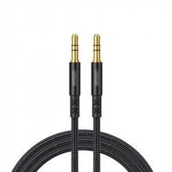 Cablu auxiliar Joyroom stereo AUX 3,5 mm mini jack 2 m black (SY-10A1)