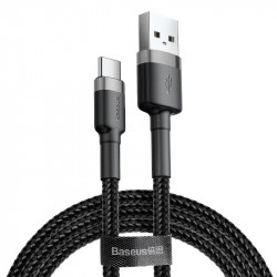 Cablu Baseus Cafule USB la Type-C, 2A - 3m