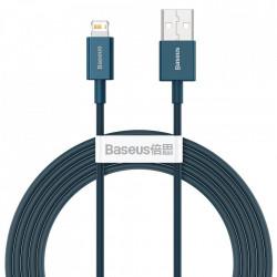 Cablu Baseus Superior USB - Lightning fast charging data cable 2,4 A 2 m blue (CALYS-C01)
