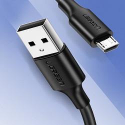 Cablu de date UGREEN USB la micro USB 2A - 1m negru