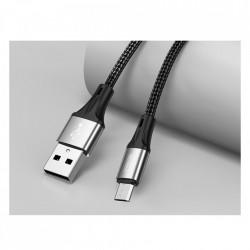 Cablu Joyroom USB - Micro USB 3 A 0,2 m black (S-0230N1)