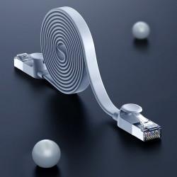Cablu patchcord Baseus Ethernet RJ45 Cat 6 UTP 1000Mbps 0,5 m gri (PCWL-F0G)