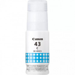 CANON GI-43 CYAN INKJET BOTTLE