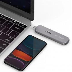 Carcasa SATA M.2 SSD BlitzWolf BW-SSDE4 B-key, NVMe, 5Gbps, USB-C 3.1