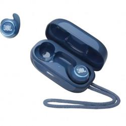 Casti audio sport In-ear JBL Reflect Mini NC, Active Noise Cancelling, Smart Ambient, IPX7, Albastru