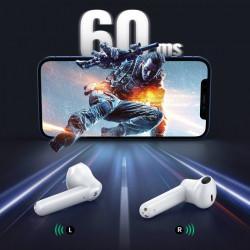 Casti Ugreen HiTune T2 ENC wireless waterproof Bluetooth 5.0 white (WS105)
