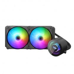 Cooler procesor AiO Darkflash DX-240 RGB (dublu, 120x120)