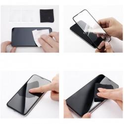 Folie sticla, Baseus PET Soft, pentru iPhone XS Max, margini PET flexibile colorate, neagra