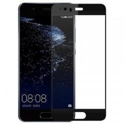 Folie sticla securizata 5D Full Glue pentru Huawei P10, Negru