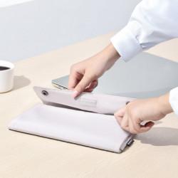 Geanta pliabila pentru laptop 13 inch , Baseus LBZD-A02 , alb
